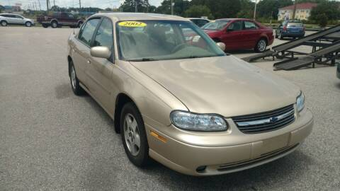 2002 Chevrolet Malibu for sale at Kelly & Kelly Supermarket of Cars in Fayetteville NC