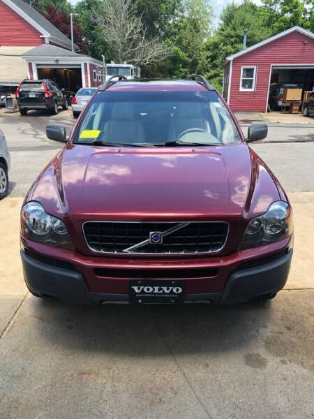 2004 Volvo XC90 for sale at East Acres RV 4279 in Mendon MA