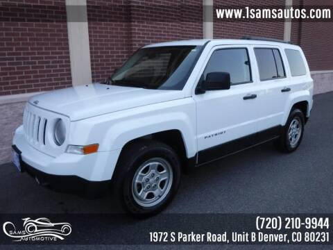 2016 Jeep Patriot for sale at SAM'S AUTOMOTIVE in Denver CO