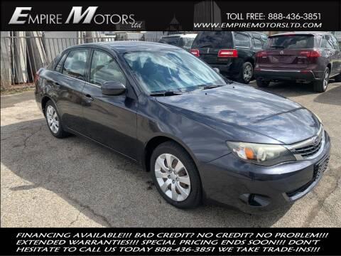 2009 Subaru Impreza for sale at Empire Motors LTD in Cleveland OH