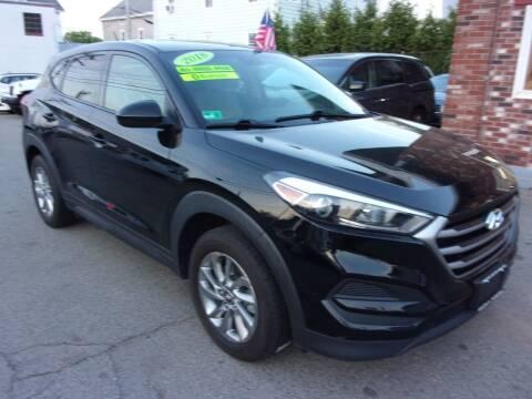 2018 Hyundai Tucson for sale at Sam's Auto Sales in Cranston RI