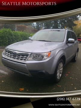 2012 Subaru Forester for sale at Seattle Motorsports in Shoreline WA