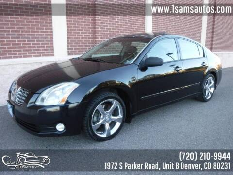 2005 Nissan Maxima for sale at SAM'S AUTOMOTIVE in Denver CO
