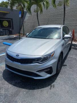 2020 Kia Optima for sale at YOUR BEST DRIVE in Oakland Park FL