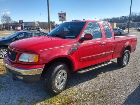 2001 Ford F-150 for sale at Wholesale Auto Inc in Athens TN