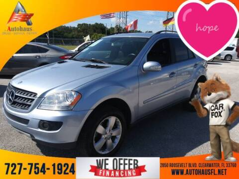 2007 Mercedes-Benz M-Class for sale at Das Autohaus Quality Used Cars in Clearwater FL