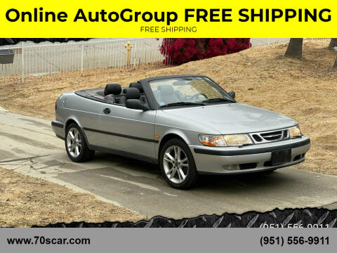 1999 Saab 9-3 for sale at Online AutoGroup FREE SHIPPING in Riverside CA