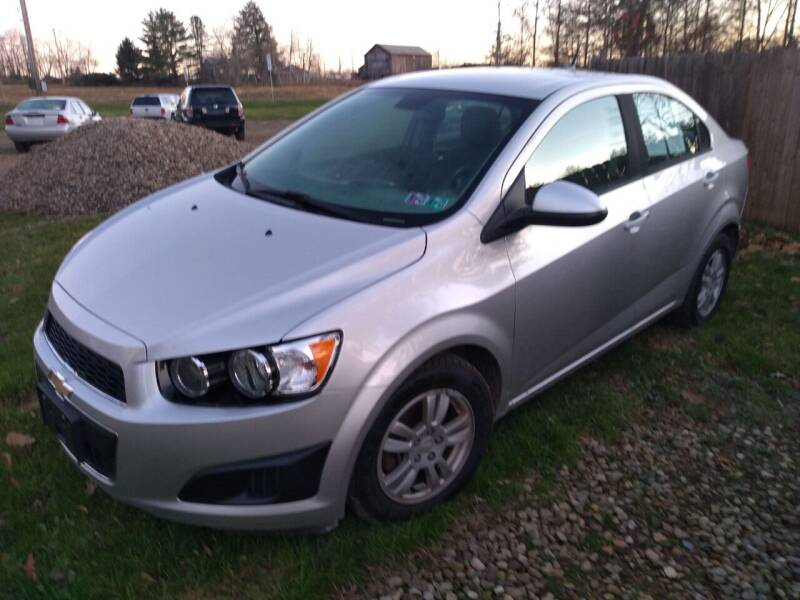 2012 Chevrolet Sonic for sale at Seneca Motors, Inc. (Seneca PA) - SHIPPENVILLE, PA LOCATION in Shippenville PA