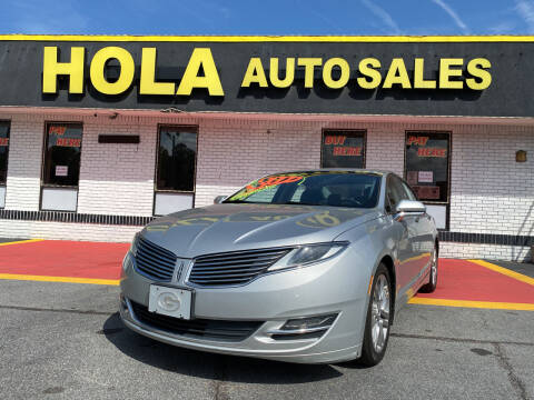 2015 Lincoln MKZ for sale at HOLA AUTO SALES CHAMBLEE- BUY HERE PAY HERE - in Atlanta GA