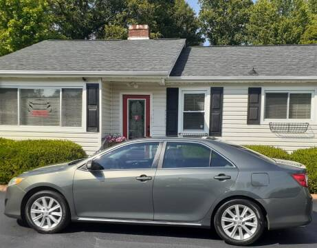 2014 Toyota Camry for sale at SIGNATURES AUTOMOTIVE GROUP LLC in Spartanburg SC