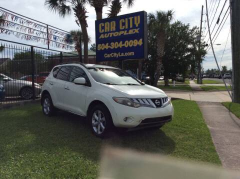 2010 Nissan Murano for sale at Car City Autoplex in Metairie LA