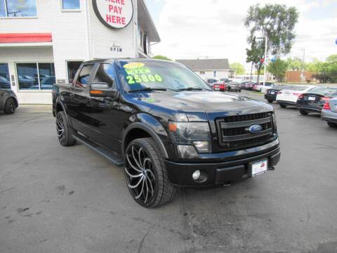 2013 Ford F-150 for sale at Auto Land Inc in Crest Hill IL