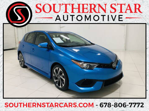 2016 Scion iM for sale at Southern Star Automotive, Inc. in Duluth GA