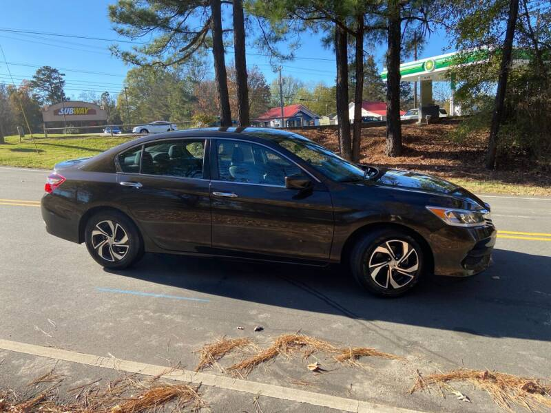 2016 Honda Accord for sale at THE AUTO FINDERS in Durham NC