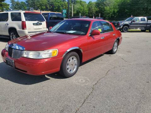 1998 Lincoln Town Car for sale at Westford Auto Sales in Westford MA