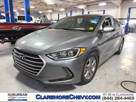 2018 Hyundai Elantra for sale at Suburban Chevrolet in Claremore OK