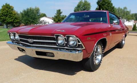 1969 Chevrolet Chevelle for sale at WEST PORT AUTO CENTER INC in Fenton MO