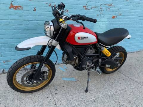 2017 Ducati Scrambler for sale at Autoforward Motors Inc in Brooklyn NY