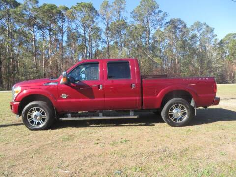 2015 Ford F-350 Super Duty for sale at Ward's Motorsports in Pensacola FL