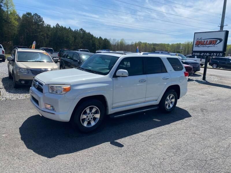 2011 Toyota 4Runner for sale at Billy Ballew Motorsports in Dawsonville GA