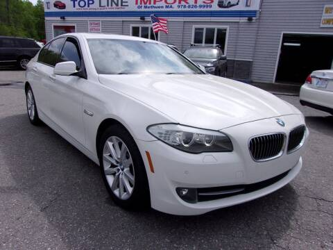 2011 BMW 5 Series for sale at Top Line Import of Methuen in Methuen MA