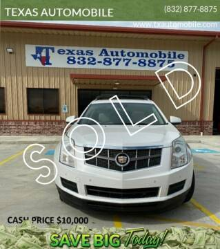 2012 Cadillac SRX for sale at TEXAS AUTOMOBILE in Houston TX
