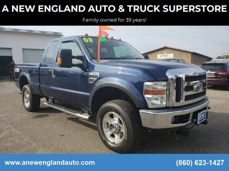 2008 Ford F-250 Super Duty for sale at A NEW ENGLAND AUTO & TRUCK SUPERSTORE in East Windsor CT