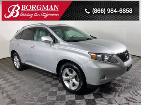 2010 Lexus RX 350 for sale at BORGMAN OF HOLLAND LLC in Holland MI