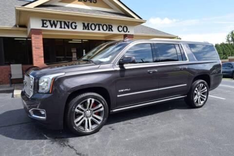 2017 GMC Yukon XL for sale at Ewing Motor Company in Buford GA