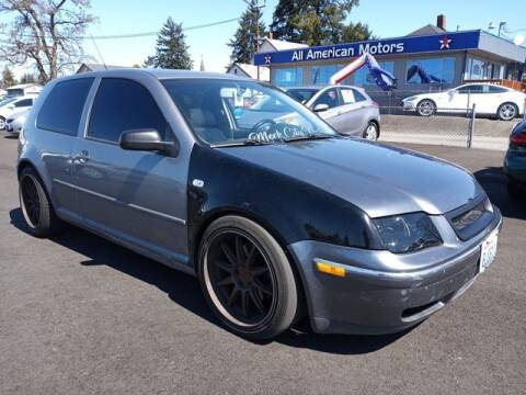 2004 Volkswagen GTI for sale at All American Motors in Tacoma WA