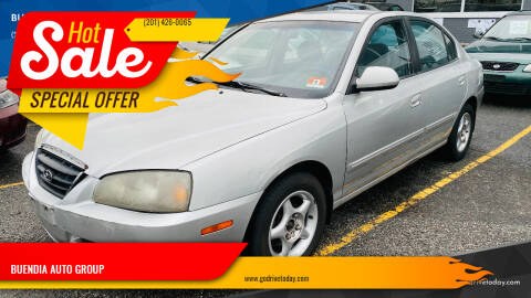 2006 Hyundai Elantra for sale at BUENDIA AUTO GROUP in Hasbrouck Heights NJ