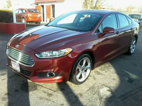 2014 Ford Fusion for sale at HARMAN MOTORS INC in Salisbury MD