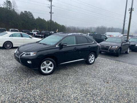 2013 Lexus RX 350 for sale at Billy Ballew Motorsports in Dawsonville GA