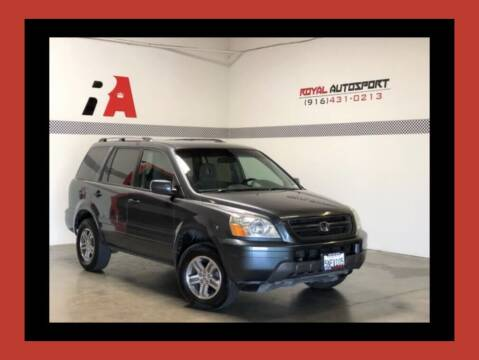 2005 Honda Pilot for sale at Royal AutoSport in Sacramento CA