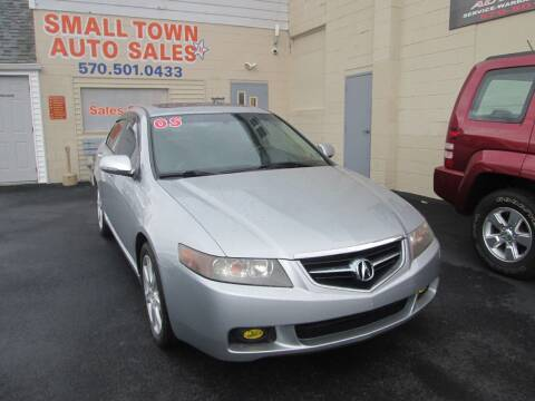 2005 Acura TSX for sale at Small Town Auto Sales in Hazleton PA