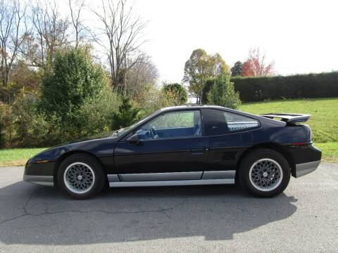 1986 Pontiac Fiero for sale at Variety Auto Sales in Abingdon VA