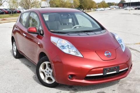 2012 Nissan LEAF for sale at Big O Auto LLC in Omaha NE