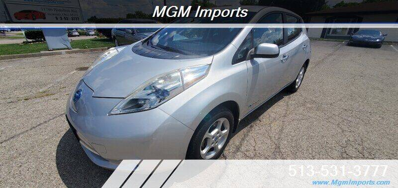 2013 Nissan LEAF for sale at MGM Imports in Cincinnati OH