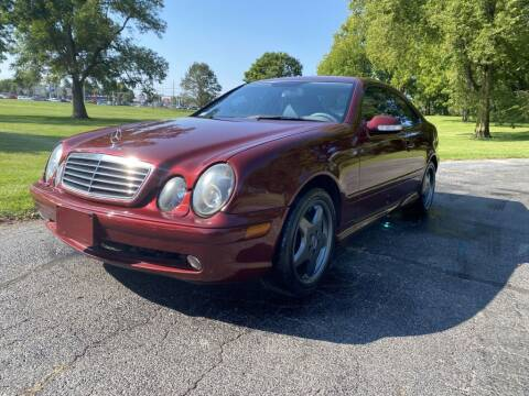 2001 Mercedes-Benz CLK for sale at Moundbuilders Motor Group in Heath OH