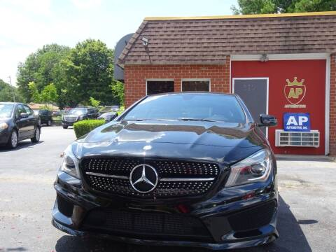 2014 Mercedes-Benz CLA for sale at AP Automotive in Cary NC