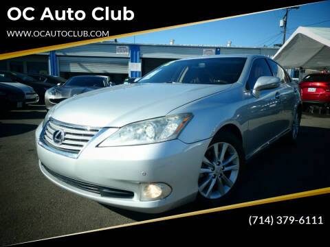 2012 Lexus ES 350 for sale at OC Auto Club in Midway City CA