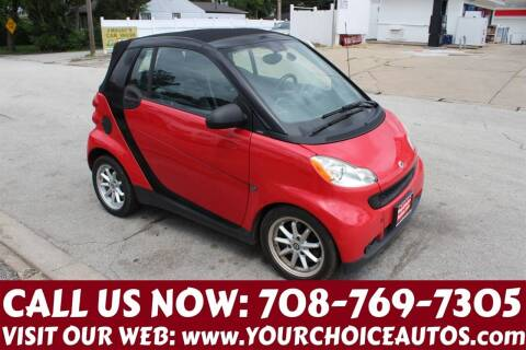 2009 Smart fortwo for sale at Your Choice Autos in Posen IL