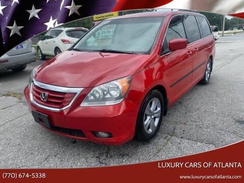 2009 Honda Odyssey for sale at Luxury Cars of Atlanta in Snellville GA
