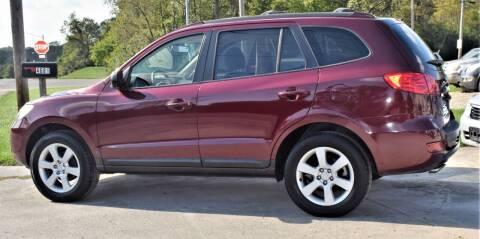 2007 Hyundai Santa Fe for sale at PINNACLE ROAD AUTOMOTIVE LLC in Moraine OH