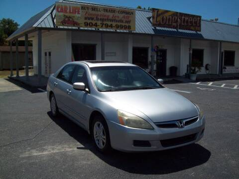2006 Honda Accord for sale at LONGSTREET AUTO in Saint Augustine FL