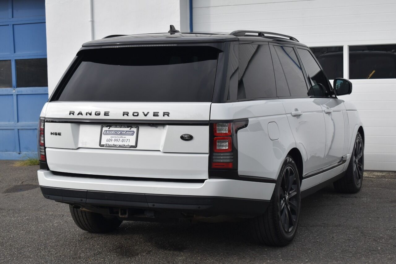 2016 Land Rover Range Rover HSE AWD 4dr SUV full