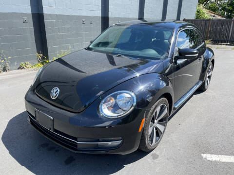 2012 Volkswagen Beetle for sale at APX Auto Brokers in Lynnwood WA