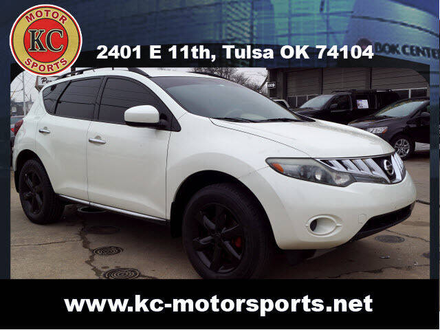 2009 Nissan Murano for sale at KC MOTORSPORTS in Tulsa OK
