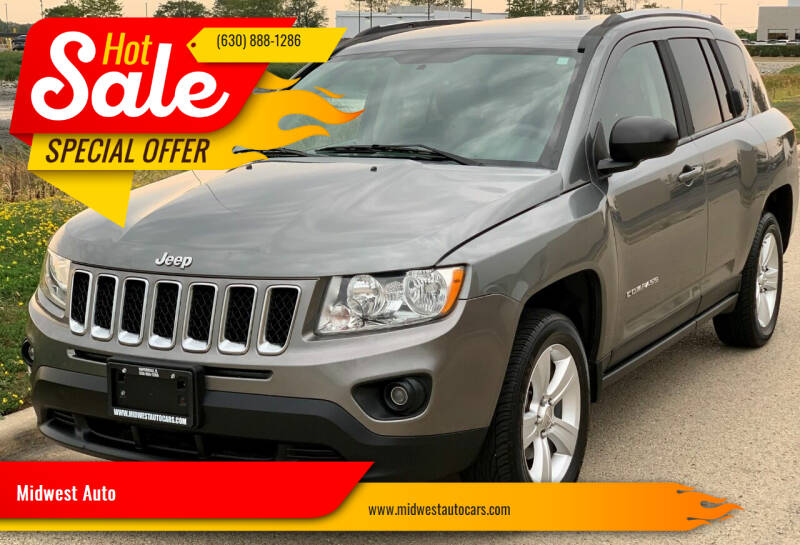 2011 Jeep Compass for sale at Midwest Auto in Naperville IL