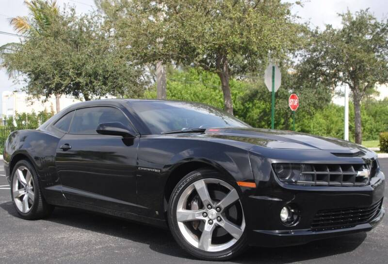 2010 Chevrolet Camaro for sale at Maxicars Auto Sales in West Park FL